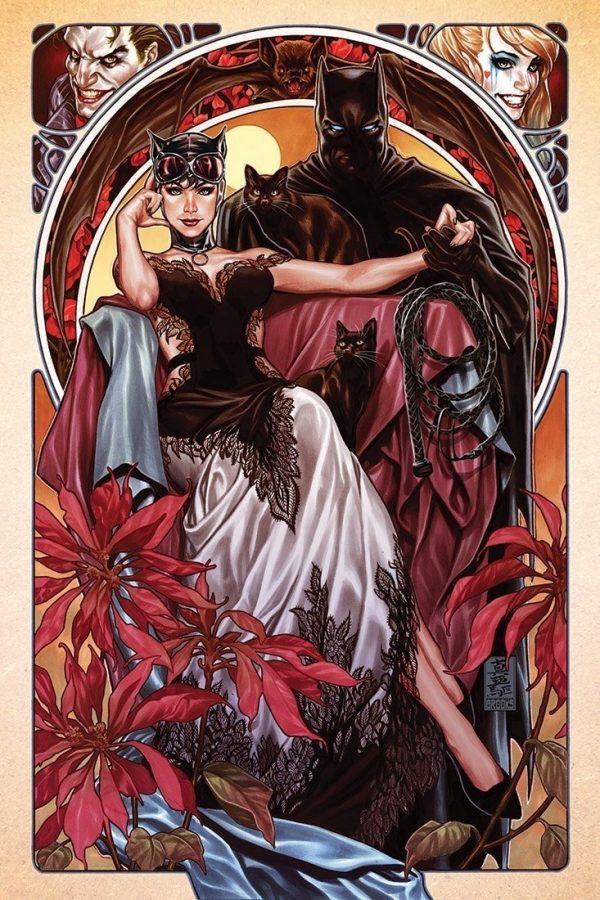 Catwoman & Batman by Mark Brooks