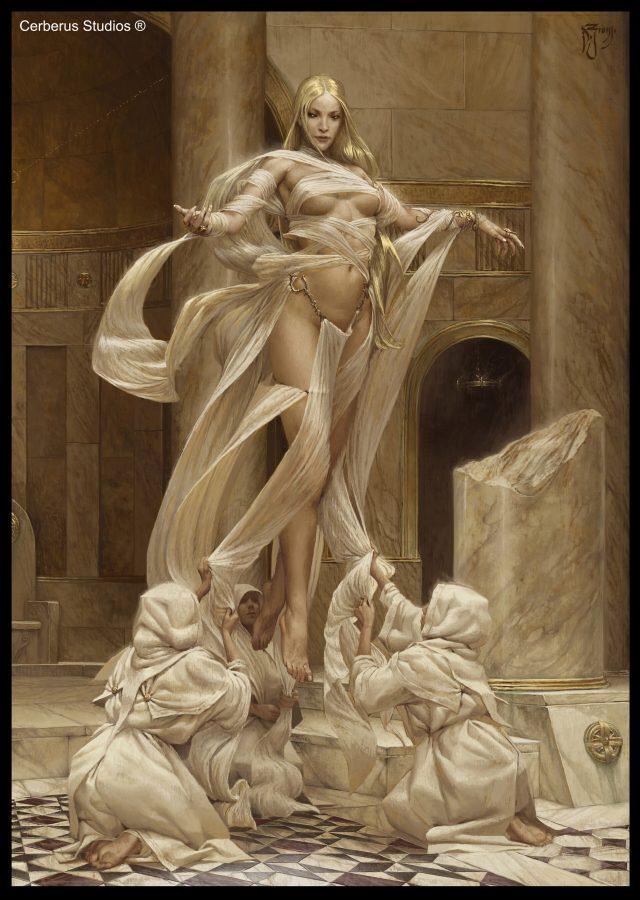 Goddess of Light by Daniel Zrom