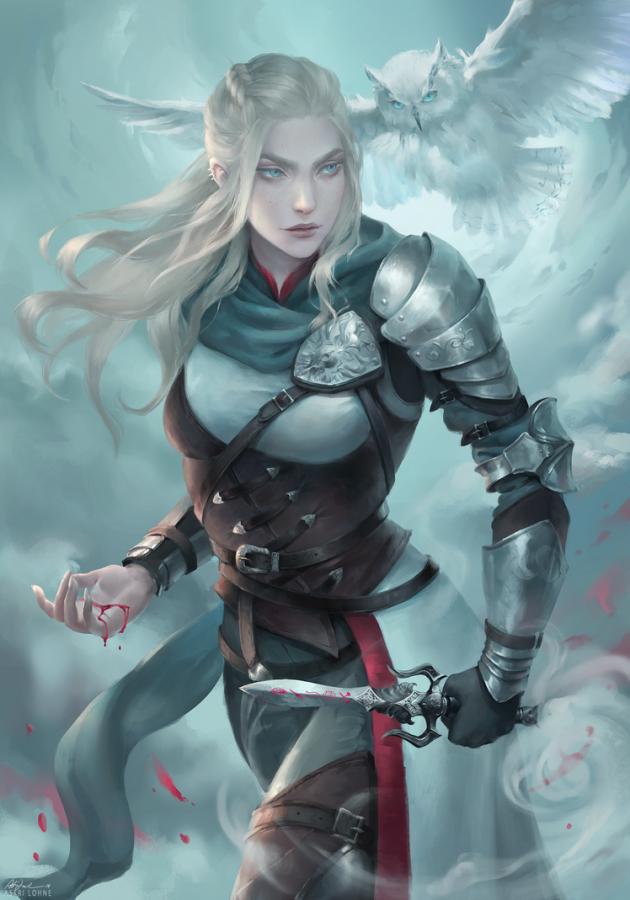 Leidora by Astri Lohne