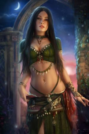 Fantasy Sexy Art | Sabari by Jorsch