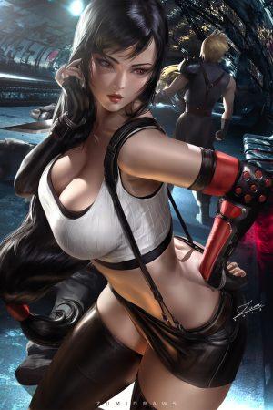 Tifa Lockhart | Tifa from Final Fantasy by Zumi