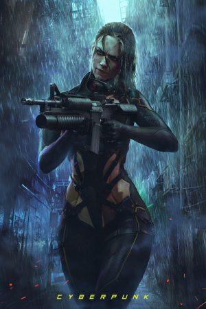 Illustration | Cyberpunk by Soufiane Idrassi