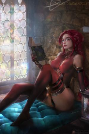 Illustration | Asynoria By DemonLordDante
