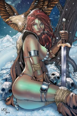 #Sonja: Winter is here by #Gwendlg