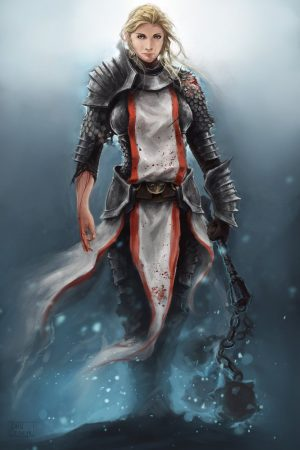 Warrior by Jan Sidoryk