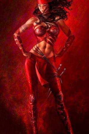 Elektra Natchios by Warren Manser