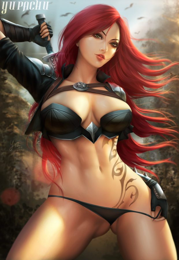 Katarina  league of legends by yupachu