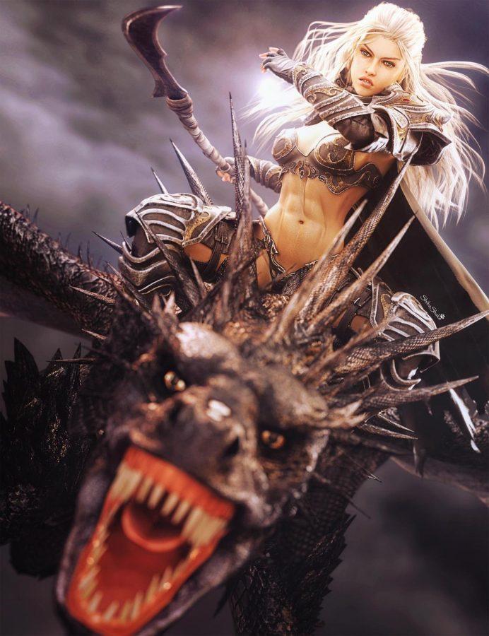 Warrior Mage by shibashake