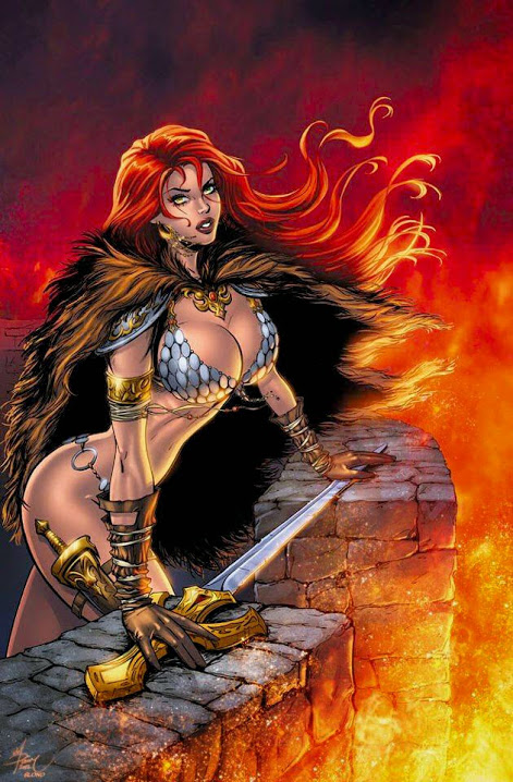 Red Sonja by Dawn McTeigue