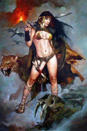 Fantasy Sexy Art | Artist Sanjulian aka 'Manuel Pérez Cl...