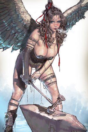 Fantasy Sexy Art | Artwork by Kyu Yong Eom (4)