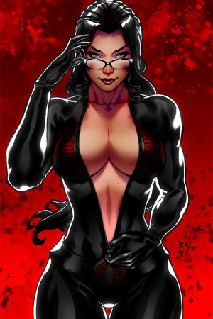 Hero / Villain | Baroness (G.I. Joe) by Erik Von Lehmann.