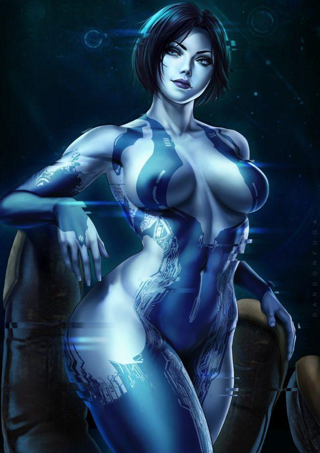 Cortana by Dandonfuga
