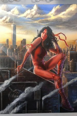 Hero / Villain | Elektra by Steven Defendini.