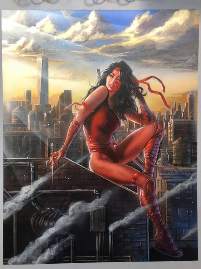Elektra by Steven Defendini.