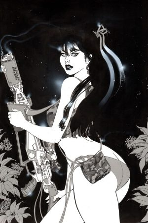 Huntress by Andrea Bulgarelli.