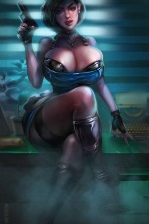 Fantasy Sexy Art | Jill Valentine (Resident Evil) by Mister...