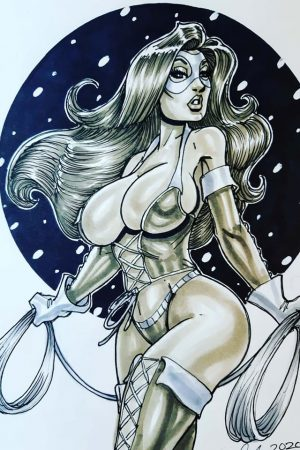 Fantasy Sexy Art | Lady Rawhide by Cameron Blakey.