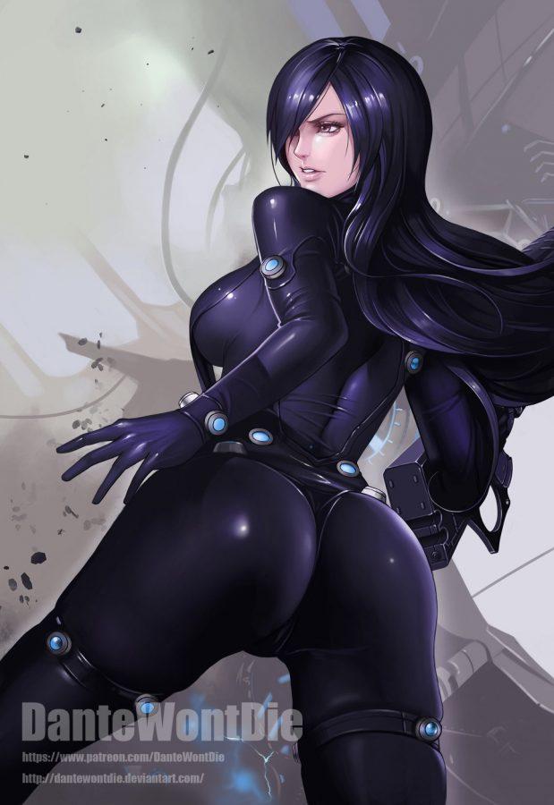Reika (Gantz) by DanteWontDie.