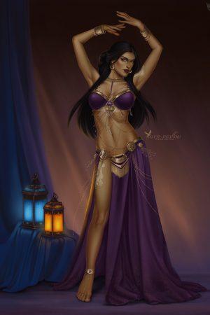 Fantasy Sexy Art | Shadiyah (World of Warcraft) by Barn-Swa...