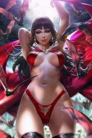 Illustration | Vampirella by Derrick Chew